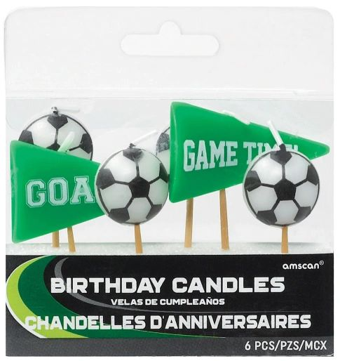 Goal Getter Pick Candles, 6ct
