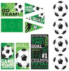 Goal Getter Value Pack Cutouts, 12ct