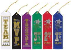 Goal Getter Recognition Ribbons, 6ct