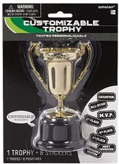 Goal Getter Customizable Trophy