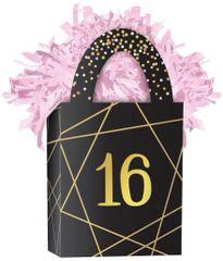 Elegant Sixteen Mini Tote Balloon Weight