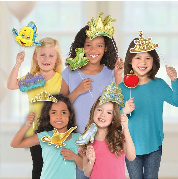 ©Disney Princess Photo Prop Kit, 13ct