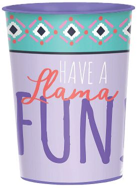 Llama Fun Favor Cup, 16oz