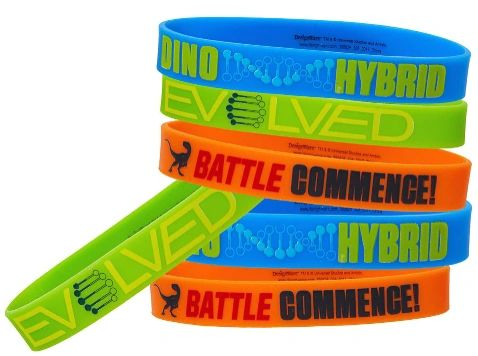 Jurassic World™ Rubber Bracelets, 6ct