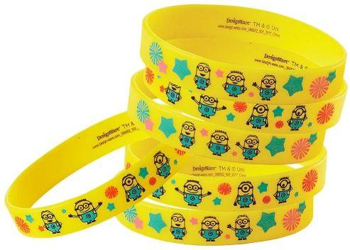Despicable Me™ Rubber Bracelets, 6ct