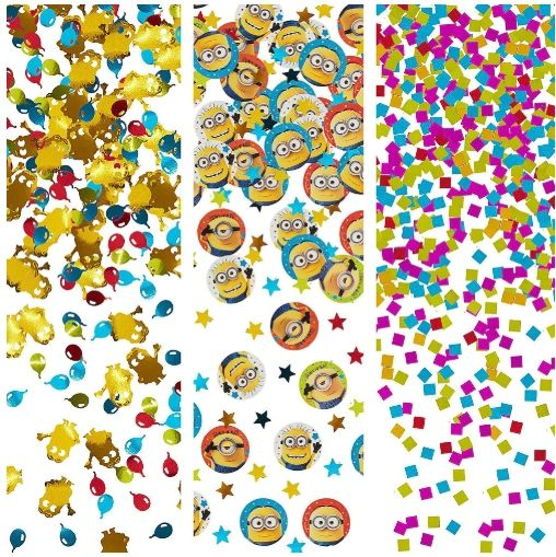 Despicable Me™ Value Pack Confetti, 1.2oz
