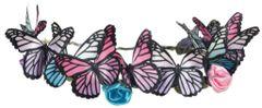 Butterfly Fantasy Head Wreath