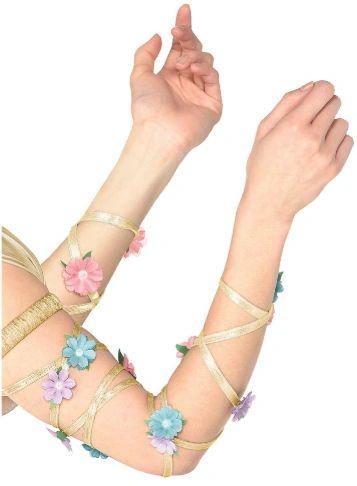 Floral Leg/Arm Wraps - Adult Standard