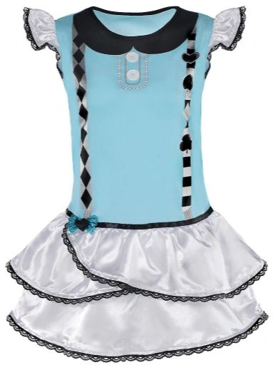 Dark Alice Tunic Top - Child M/L