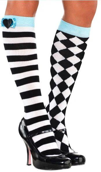 Wonderland Knee Socks - Child