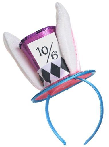 Mad Hatter Headband - Adult Standard