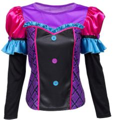 Mad Hatter Long Sleeve Top - Adult S/M