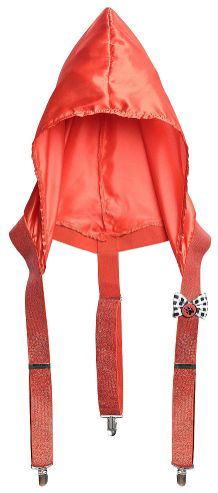 Riding Hood Suspenders - Adult Standard
