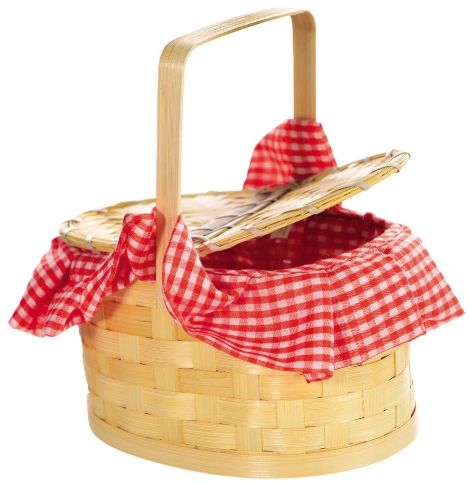 Basket Purse - Red Riding Hood