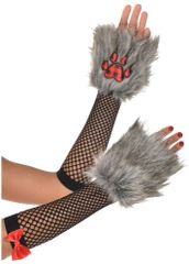 Red Riding Hood Deluxe Arm Warmers