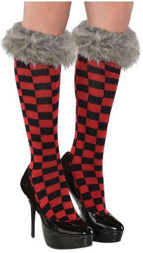 Red Riding Hood Knee Socks