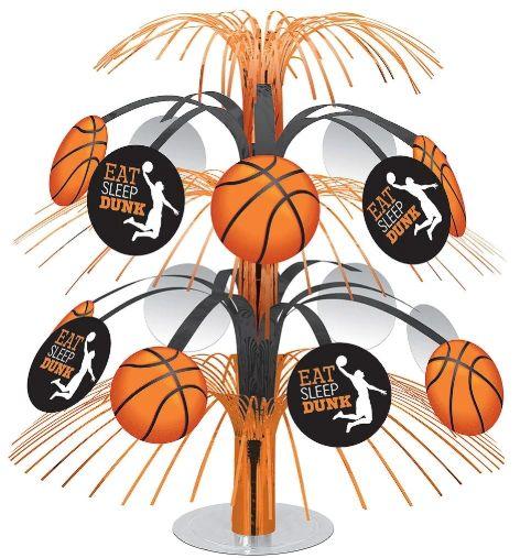 Eat Sleep Dunk Basketball Cascade Centerpiece