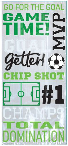 Goal Getter Large Party Bags, 20ct