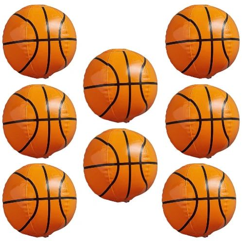Nothin' But Net Mini Inflatable Basketballs, 8ct