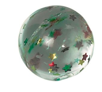Star Glitter Bounce Ball Favor
