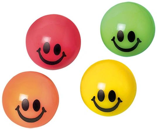 Smile Bounce Ball Favor