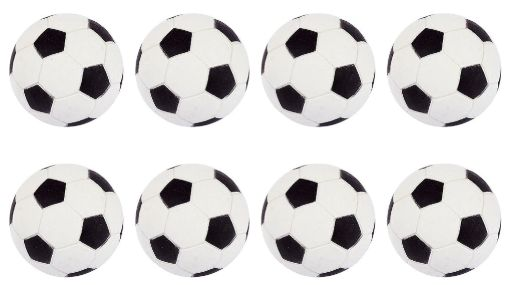 Goal Getter Inflatable Soccer Balls, 8ct