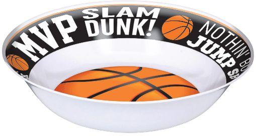 Nothin' But Basketball Melamine Bowl