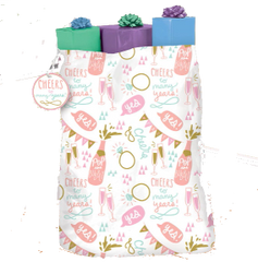 Champagne Wedding Gift Sack