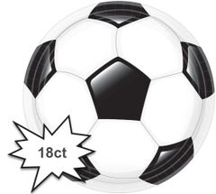 "Goal Getter Round Dinner Plates, 10 1/2"" - 18ct"
