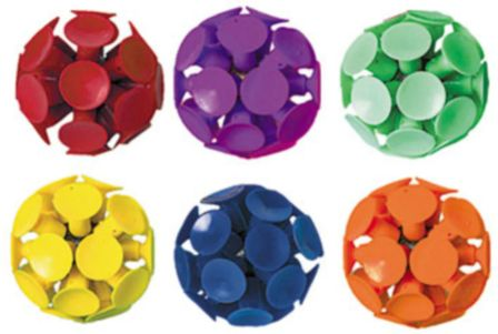 Suction Cup Balls, 6ct