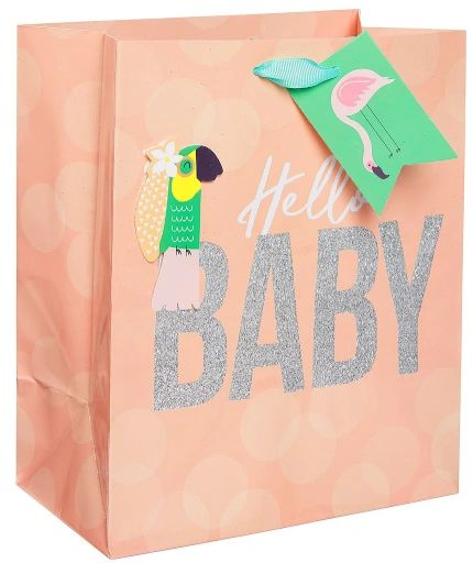 Hello Baby Medium Bag w/ Gift Tag