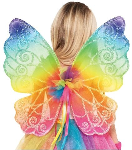Rainbow Fairy Wings - Child
