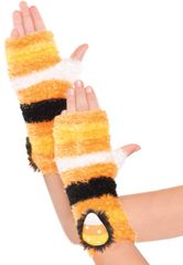 Candy Corn Fairy Glovelettes - Child