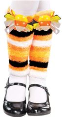 Candy Corn Fairy Leg Warmers - Child