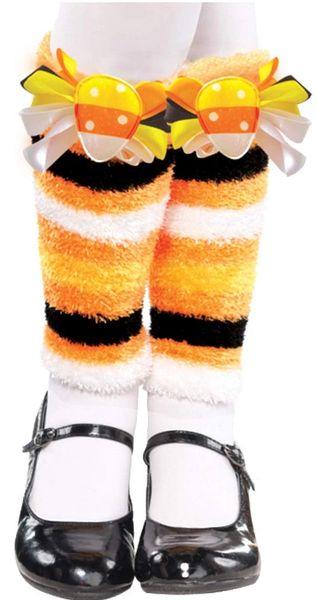 Candy Corn Fairy Leg Warmers - Child