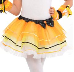 Candy Corn Fairy Tutu - Child Standard
