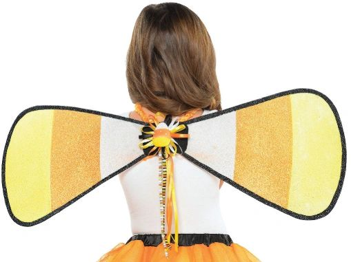 Candy Corn Fairy Wings - Child