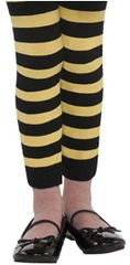 Bumblebee Fairy Footless Tights - Child Standard