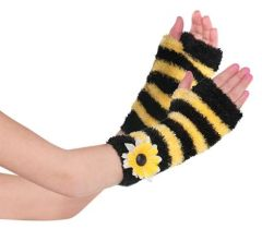 Bumblebee Fairy Glovelettes - Child