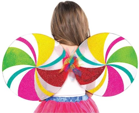 Lollipop Fairy Wings - Child