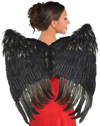 Dark Sinister Feather Wings