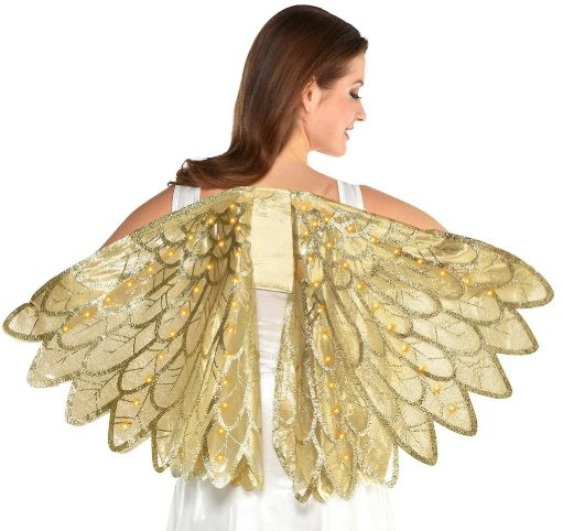 Gold Light-Up Wings