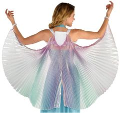 Iridescent Fabric Wings
