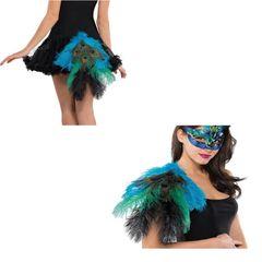 Peacock Tail/Epaullette - Adult