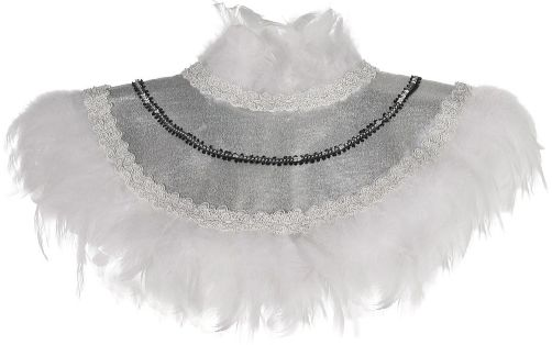 Snow Owl Feather Collar - Adult