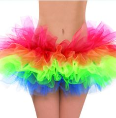 Rainbow Ballet Tutu - Adult Standard