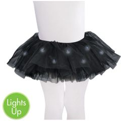 Black Light-Up Tutu - Child S/M or M/L