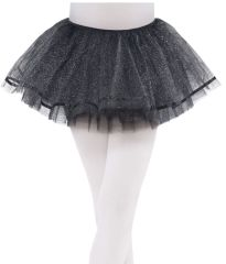 Black Shimmer Tutu - Child S/M or M/L