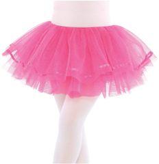Hot Pink Shimmer Tutu - Child S/M or M/L