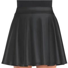 Black Flare Skirt - Adult Standard